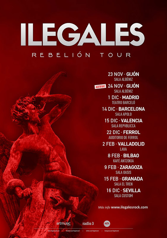 Ilegales en Teabro Albéniz, más info...