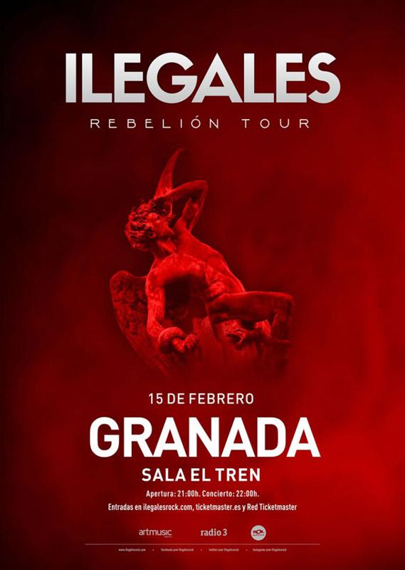 Ilegales en Sala El Tren, más info...