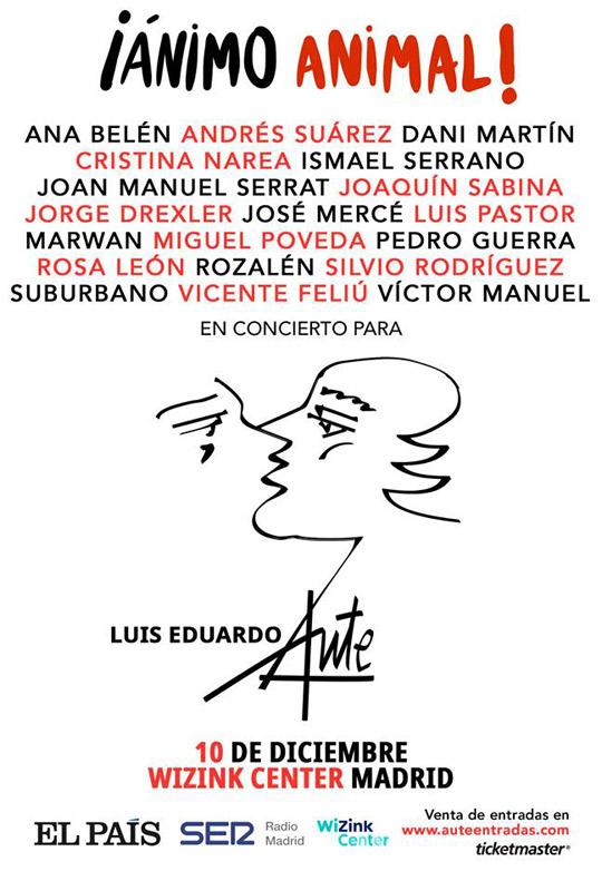 Luis Eduardo Aute en ¡Ánimo Animal!, más info...