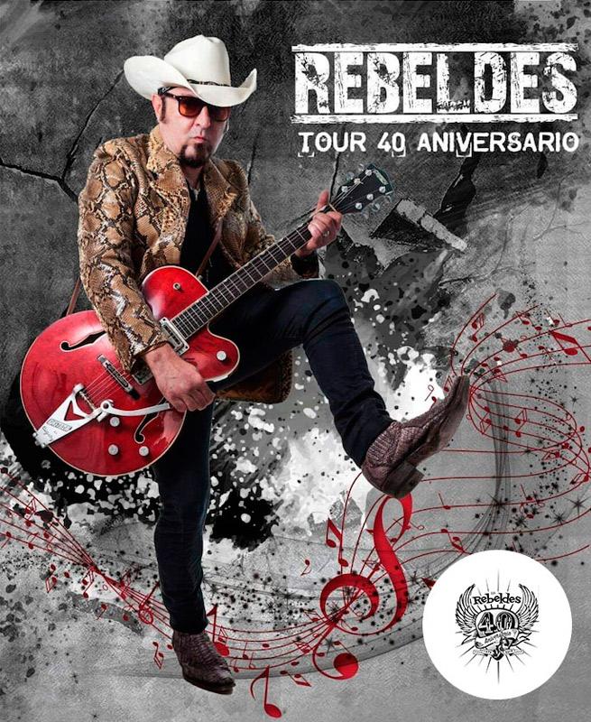 Los Rebeldes en Sala Bikini, más info...