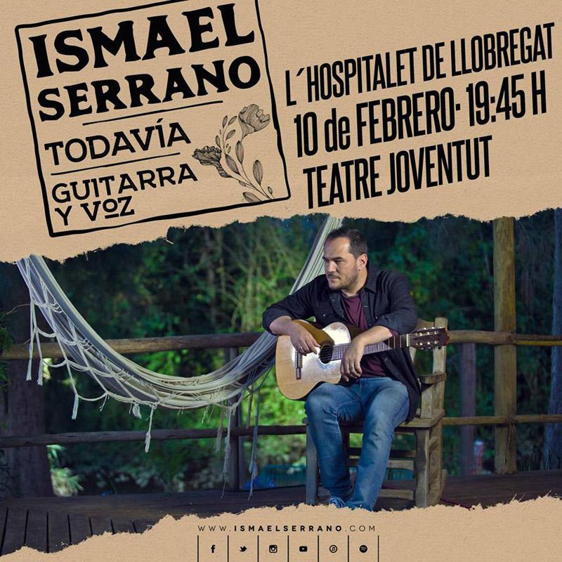 Ismael Serrano en Teatre Joventut, más info...