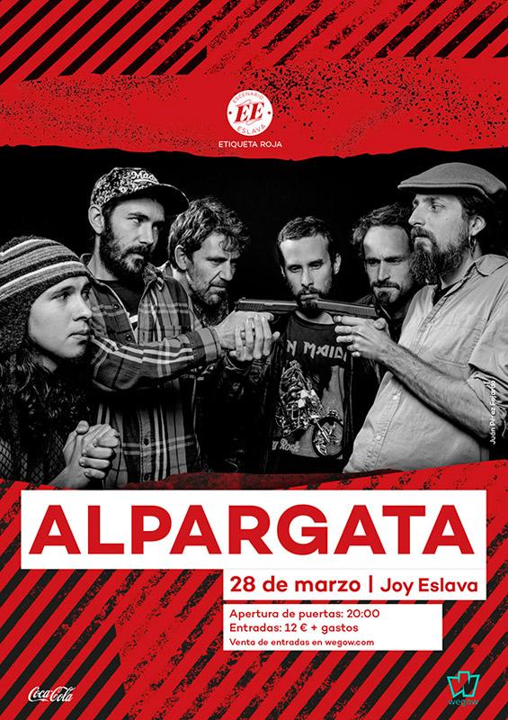 Alpargata en Sala Joy Eslava, más info...