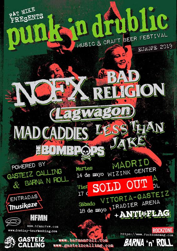 Bad Religion en Punk in Drublic, más info...