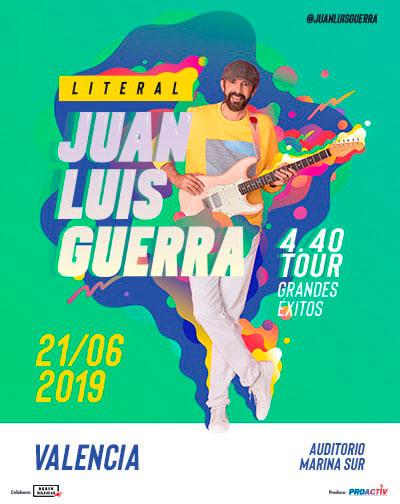 Juan Luis Guerra en Auditorio Marina Sur, más info...