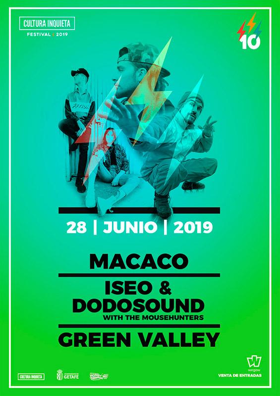 Macaco en Festival Cultura Inquieta 2019, más info...