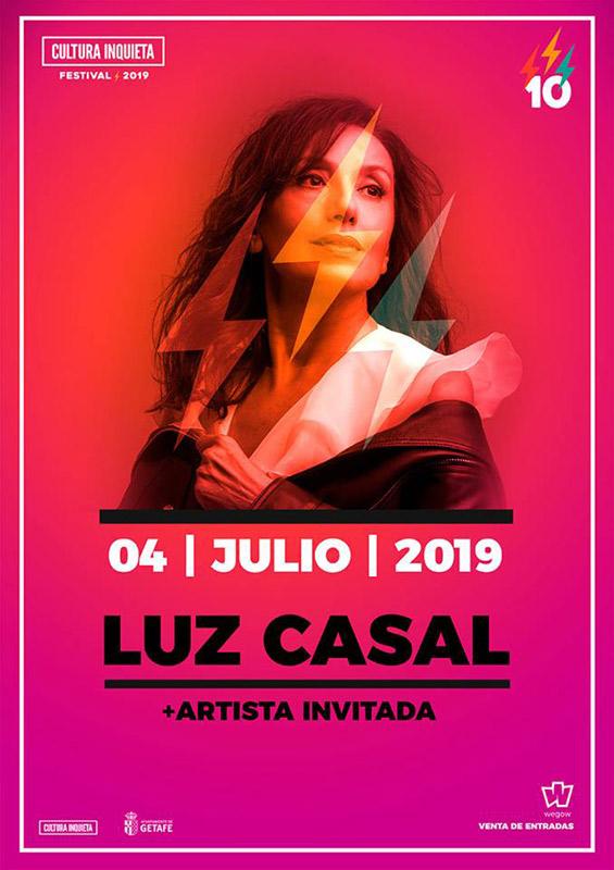 Luz Casal en Festival Cultura Inquieta 2019, más info...