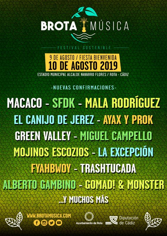 Macaco en Brota Música 2019, más info...