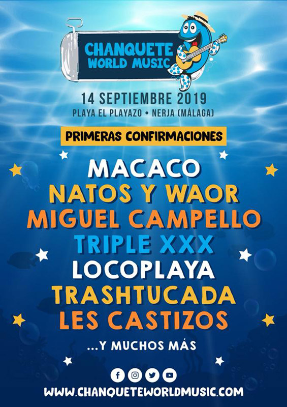 Macaco en Chanquete World Music 2019, más info...