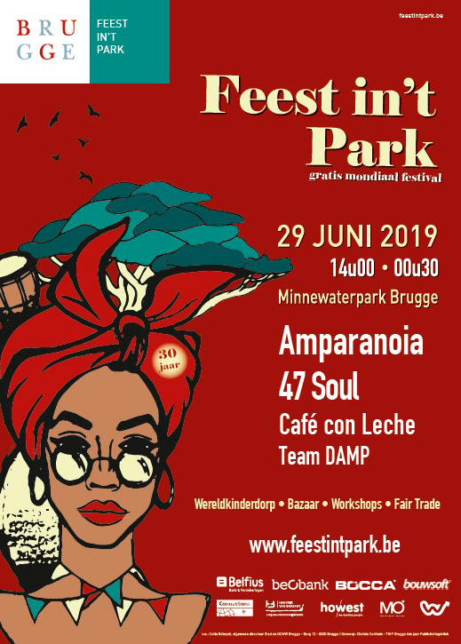 Amparanoia en Festival Feest in't Park, más info...