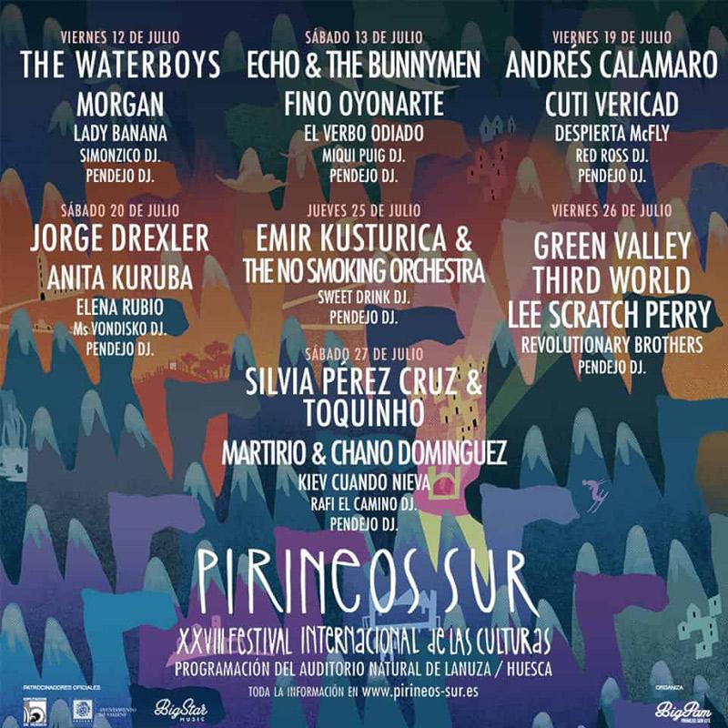 Martirio en Festival Pirineos Sur, más info...
