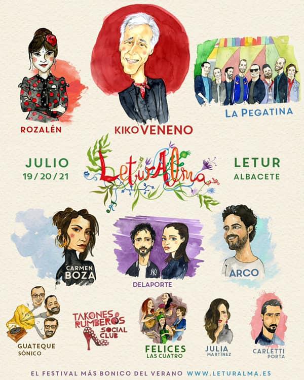 Kiko Veneno en LeturAlma Festival, más info...