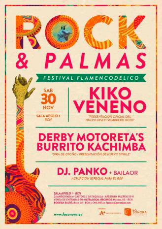 Kiko Veneno en Sala Apolo, más info...