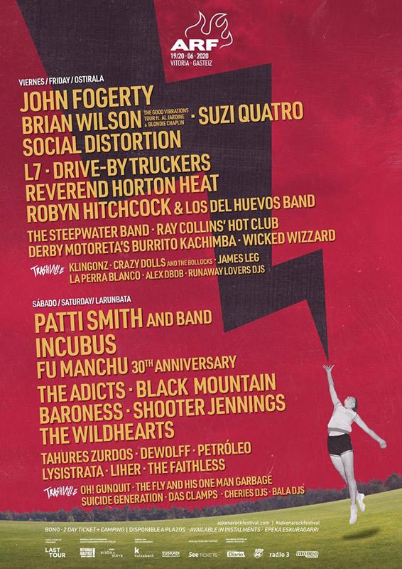 Azkena Rock Festival, más info...