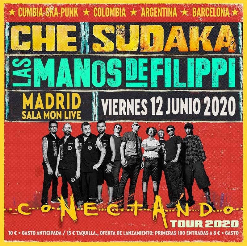 Che Sudaka en Sala Mon Live, más info...