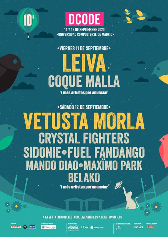 Coque Malla en DCODE Festival, más info...