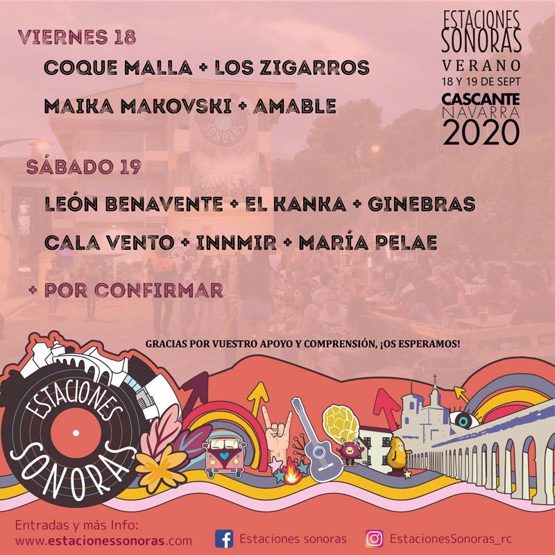 Coque Malla en Estaciones Sonoras, más info...