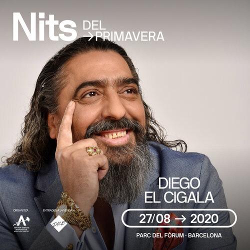 Diego el Cigala en Nits del Primavera, más info...