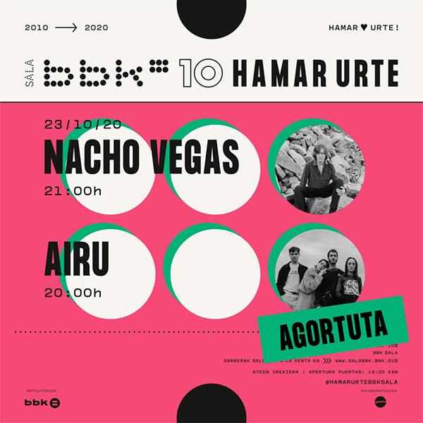 Nacho Vegas en Sala BBK, más info...