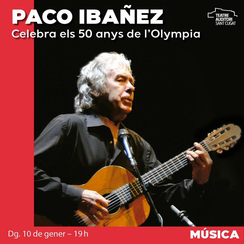 Paco Ibáñez en Teatre-Auditori Sant Cugat, más info...