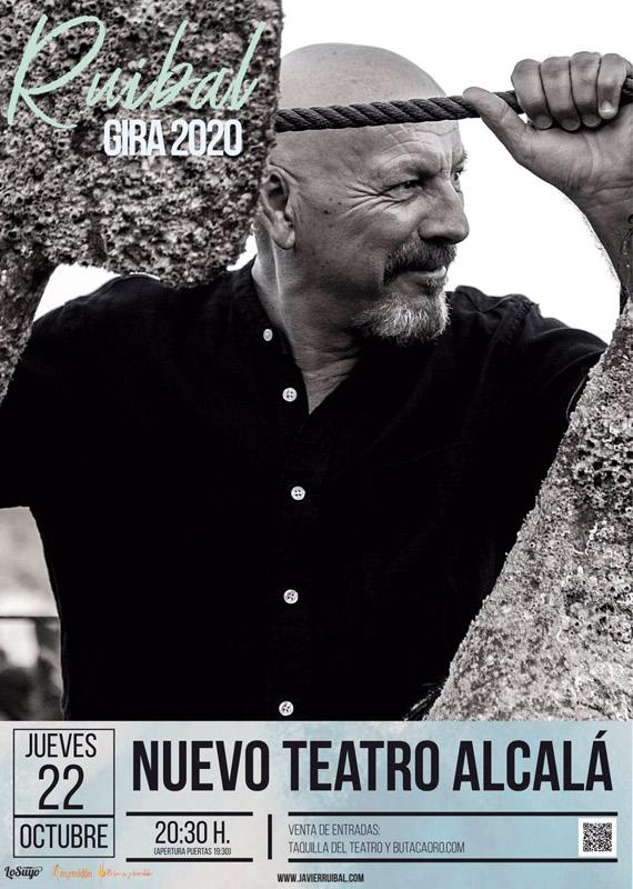 Javier Ruibal en Nuevo Teatro Alcalá, más info...