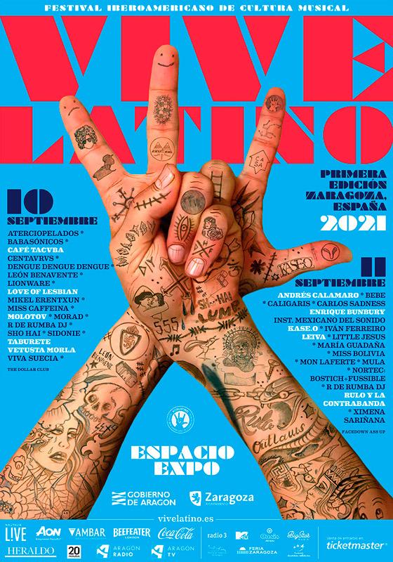 Enrique Bunbury (banda) en Festival Vive Latino, más info...