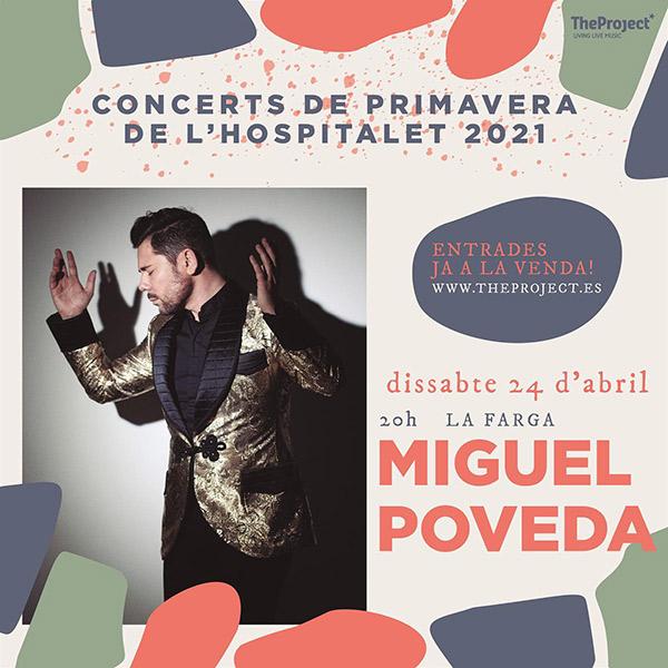 Miguel Poveda en Concerts de Primavera, más info...