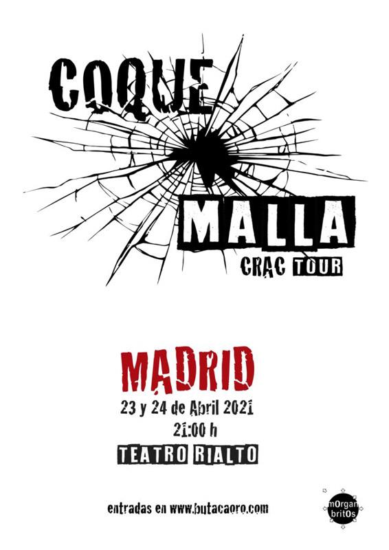 Coque Malla en Teatro Rialto, más info...