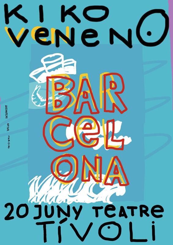Kiko Veneno en Teatre Tivoli, más info...