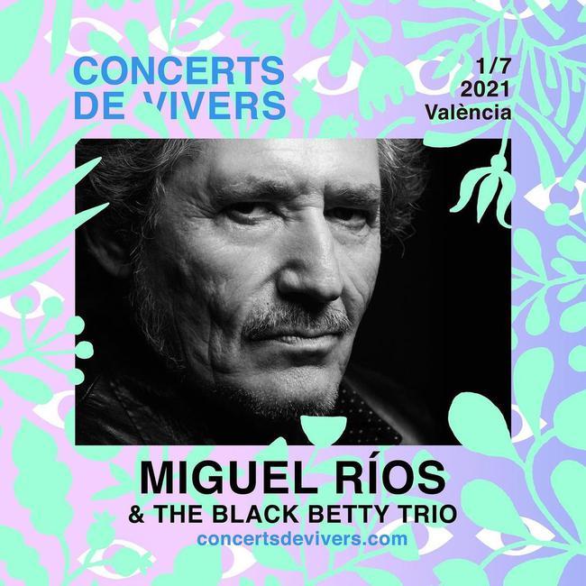 Miguel Ríos en Concerts de Vivers, más info...