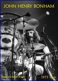 John Bonham (ampliar foto...)