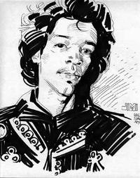 Jimi Hendrix (ampliar foto...)