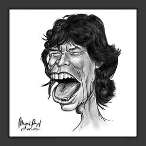 Mick Jagger (ampliar foto...)