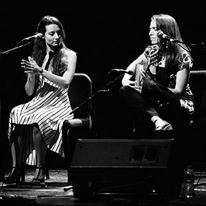 Isabel Vinardell & Isabelle Laudenbach (ampliar foto...)
