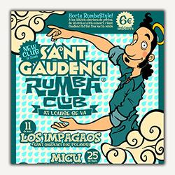 El 11 de marzo se inaugura el Sant Gaudenci Rumba Club, ampliar