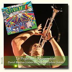 La Pegatina arranca su gira presentando Xapomelön, ampliar