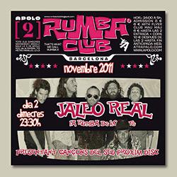 """Jaleo Real exhibe su """"rumba de combate"""" en el Rumba Club, ampliar"""