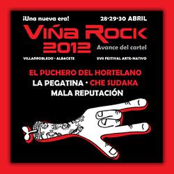 El Viña Rock 2012 presenta un avance de su cartel, ampliar