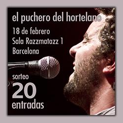 Regalamos 20 entradas para ver al Puchero en la sala Razzmatazz, ampliar