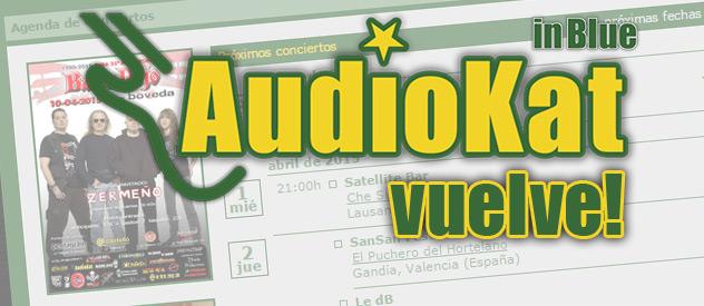 AudioKat vuelve con una web totalmente renovada...