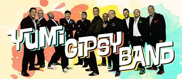 La Yumi Gipsy Band se presentó oficialmente en casa...