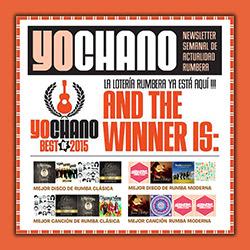 YoChano Best of 2015, la 7ª edición con lo mejor de la rumba, ampliar