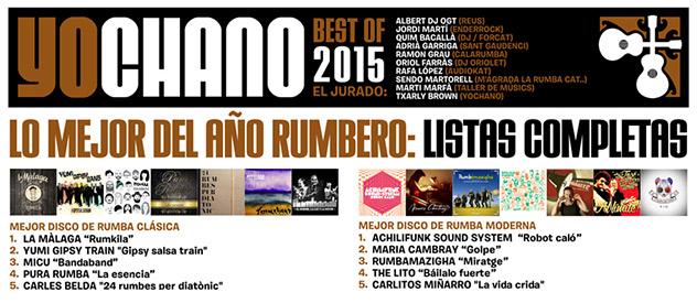YoChano Best of 2015, la 7ª edición con lo mejor de la rumba...