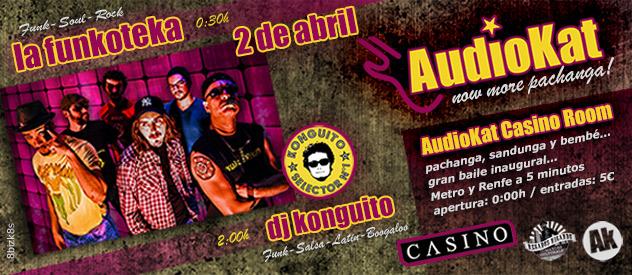 Llega el #AudioKatCasinoRoom... now more pachanga!...