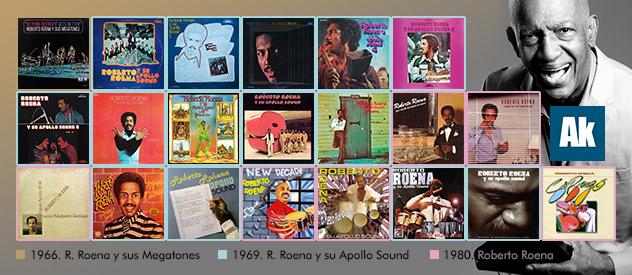 Los sesenta años de trayectoria de Roberto Roena...