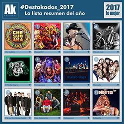 #Destakados_2017. La lista resumen del año, ampliar